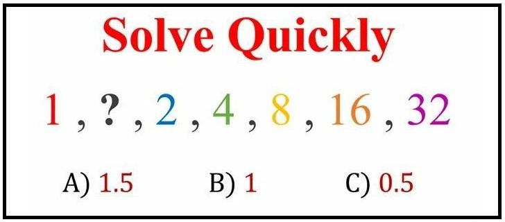 Solve logic number series riddle