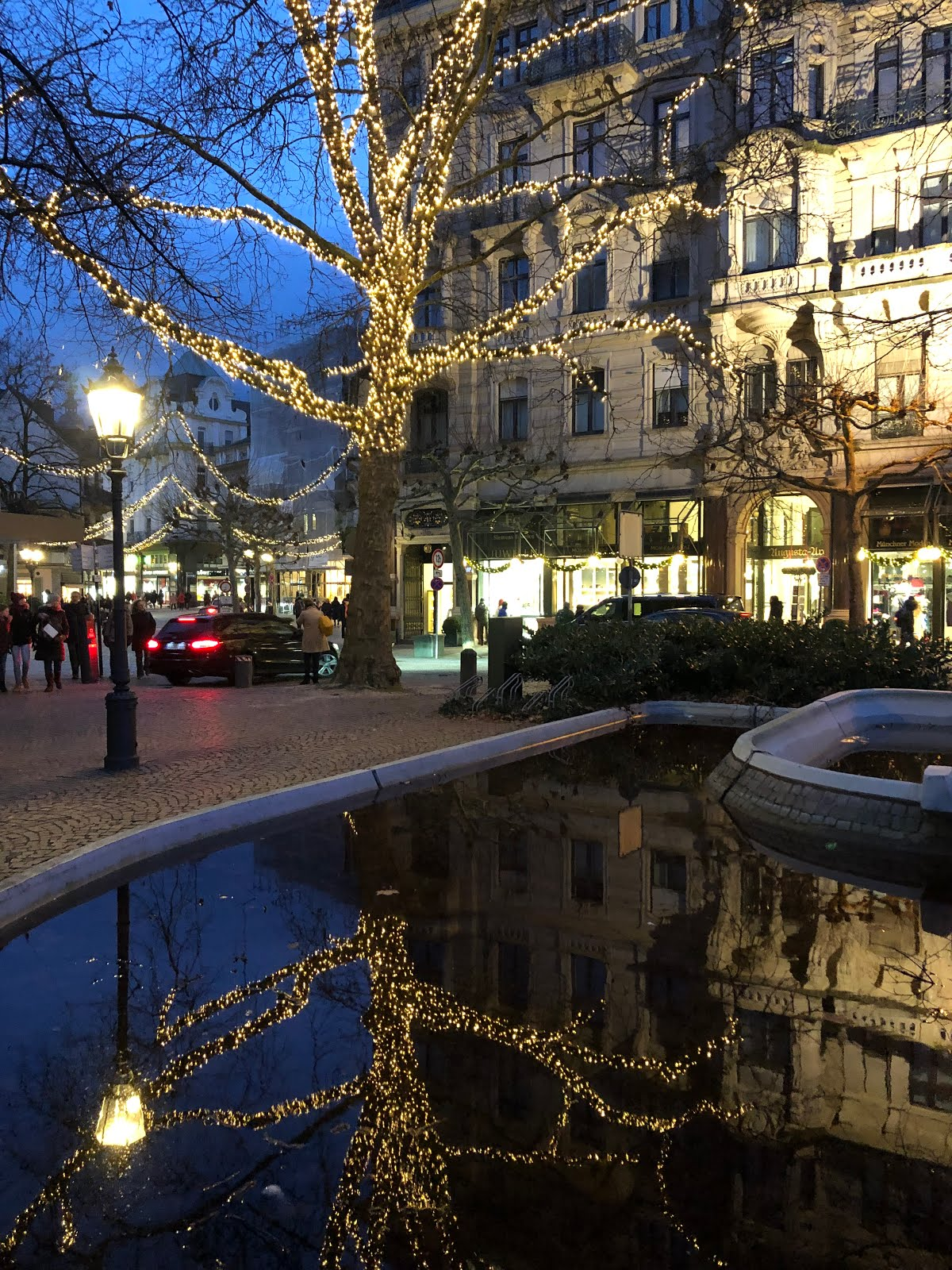 Baden-Baden Weihnachtsbeleuchtung