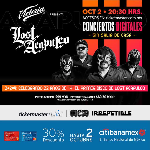 """Lost Acapulco navegará con su música surf por el oleaje del streaming en """"irrepetible"""""""