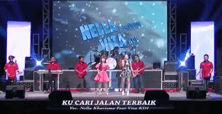 Lirik Lagu Ku Cari Jalan Terbaik - Nella Kharisma ft Vita KDI