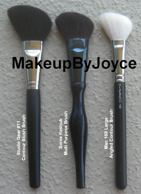 Mac 168 Large Angled Contour Brush: MakeupByJoyce ** !: Review: Studio Gear #11 Contour Blush