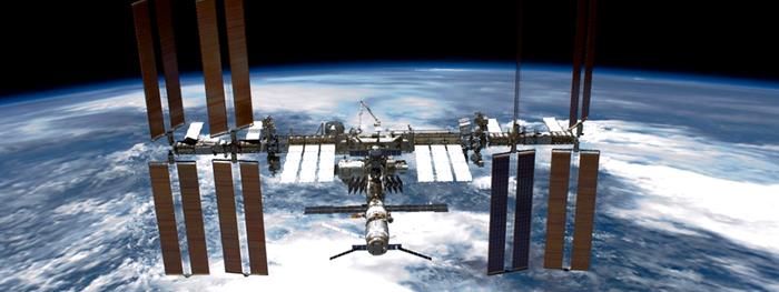 vazamento de ar na estação espacial internacional