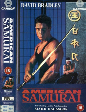Poster Of American Samurai In Dual Audio Hindi English 300MB Compressed Small Size Pc Movie Free Download Only At worldfree4u.com