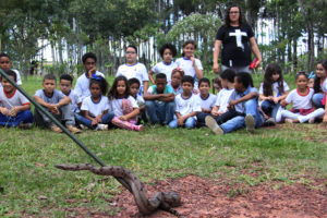 Foto 3 300x200 - Estudantes do CEF Boa Esperança participam de ações no Parque Três Meninas incentivam preservação ambiental