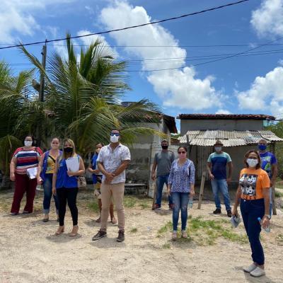 Prefeitura de Goiana realiza ação social na comunidade do Guaxelo