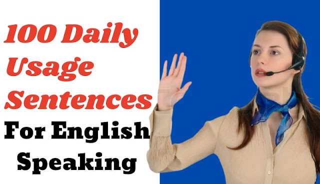 100 daily use english speaking conversations sentences in hindi, how to speak English fluently in hindi