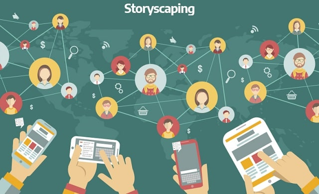 storyscaping vs storytelling marketing strategy company stories