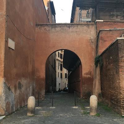 Arco Via Tempio della Pace Fori Imperiali