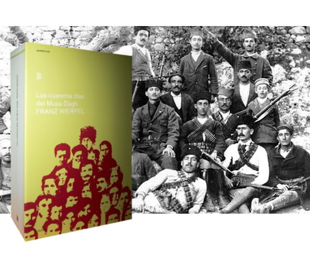 Aniversario de Franz Werfel de Los cuarenta días del Musa Dagh