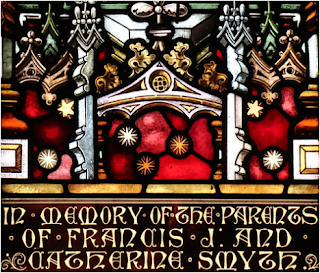 Smyth memorial window - Tarlee Catholic church