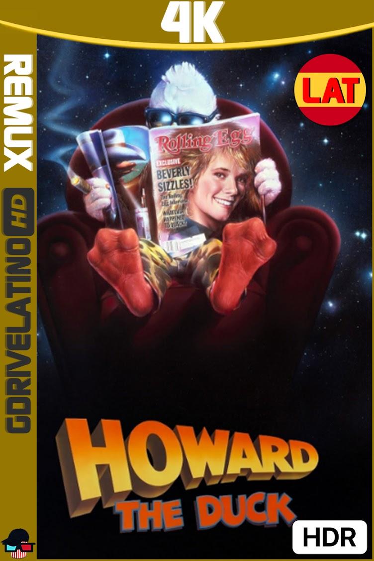 Howard : El Pato (1986) BDRemux 4K UHD HDR Latino-Ingles MKV