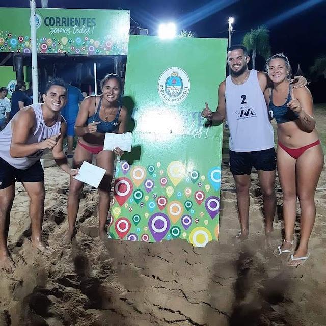 Beach Voley: Posadas ganó un torneo en Corrientes