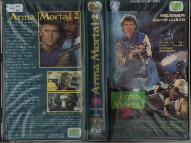 """Pelicula """"Arma Mortal 2"""" (1989)"""