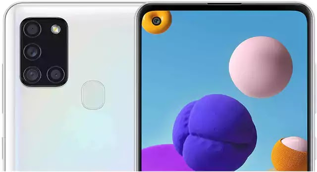 Samsung Galaxy A21s ابيض