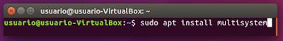 sudo apt install multisystem
