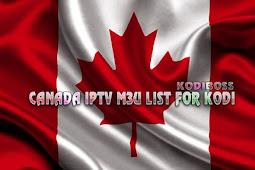 Working Canada IPTV M3U Playlist URL For Kodi.