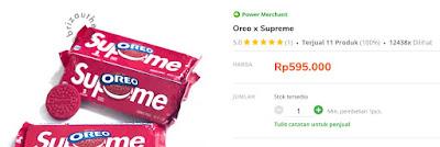 Resep Oreo Supreme