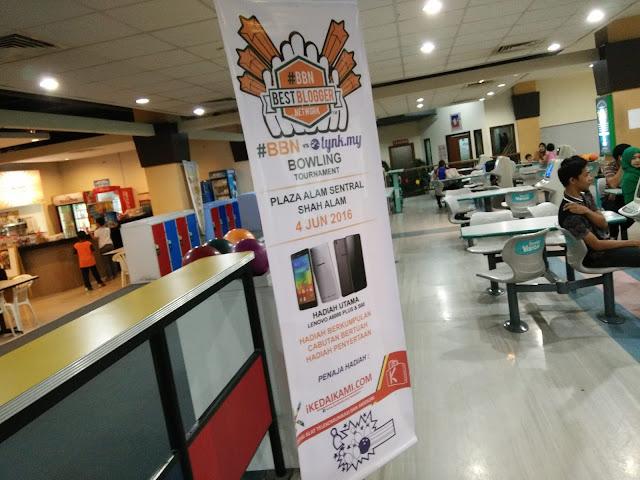 Kejohanan Bowling #BBN Vs lynk.my di Plaza Alam Sentral, Shah Alam