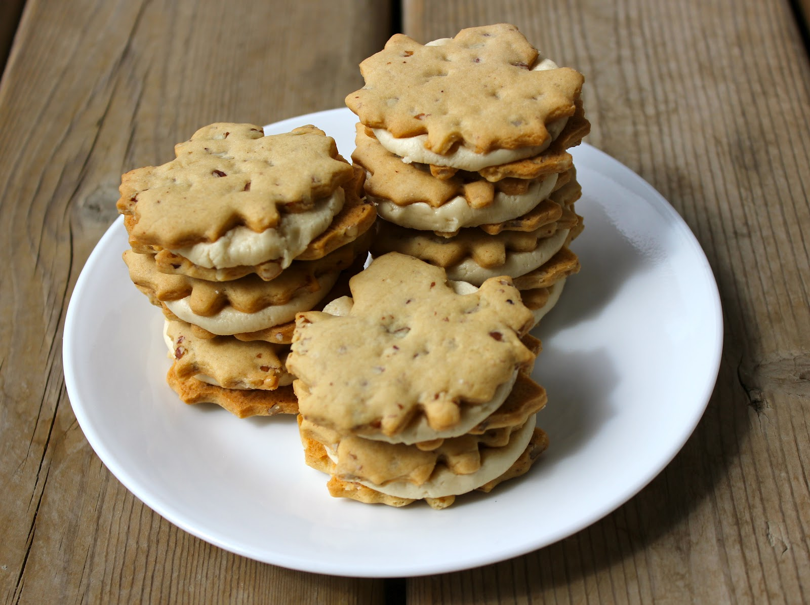 Cooking With Jax Canada Day Maple Pecan Cream Cookies
