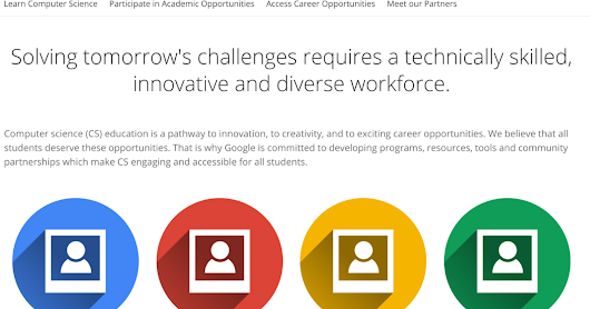 All of Google's CS Education Programs and Tools in One Place
