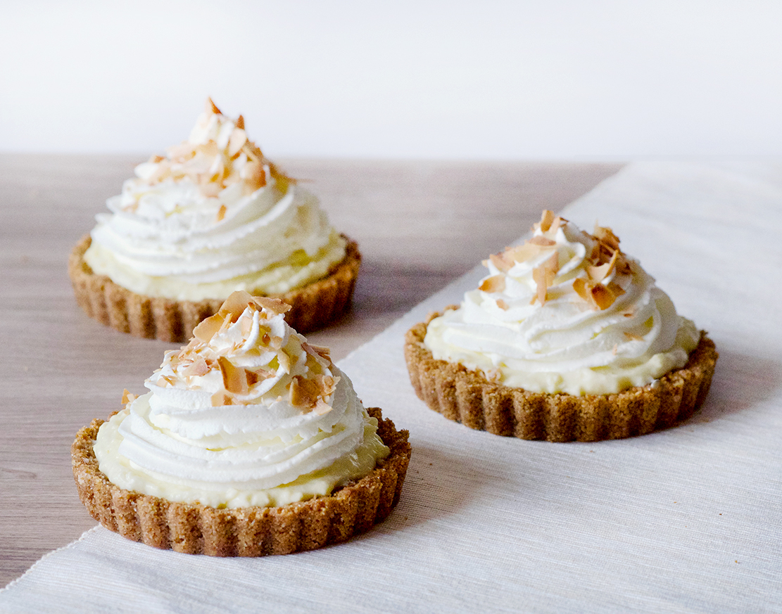 Mini Coconut Cream Pie | Obsessive Cooking Disorder