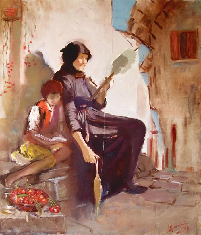 Албанский художник-импрессионист.