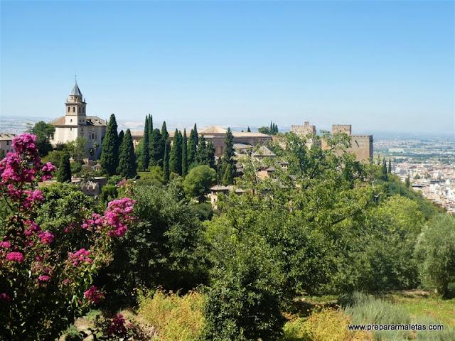 que visitar en la Alhambra de Granada