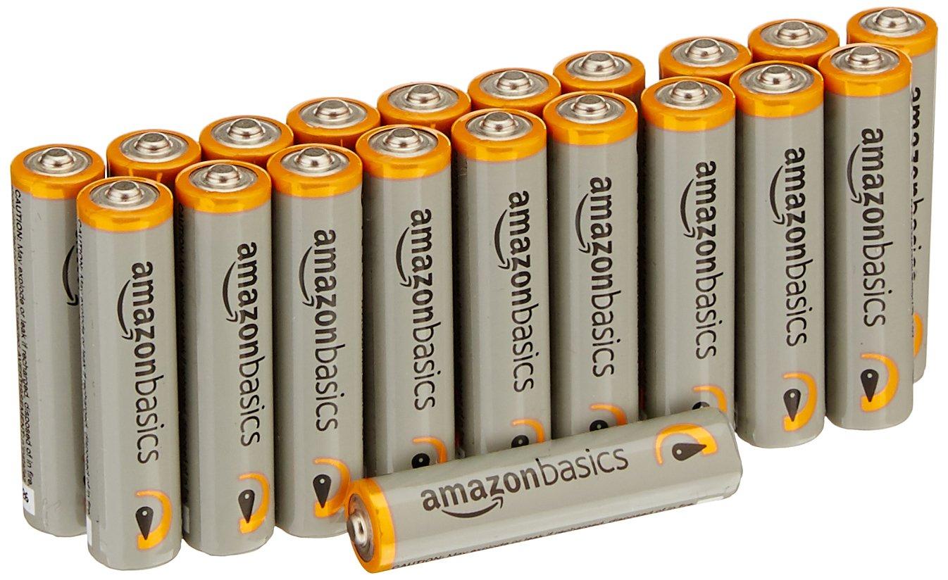 Dollar Savers: AmazonBasics Pack of 20 AAA Batteries for
