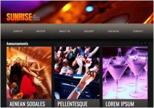 Best Blogger Templates For Music Website