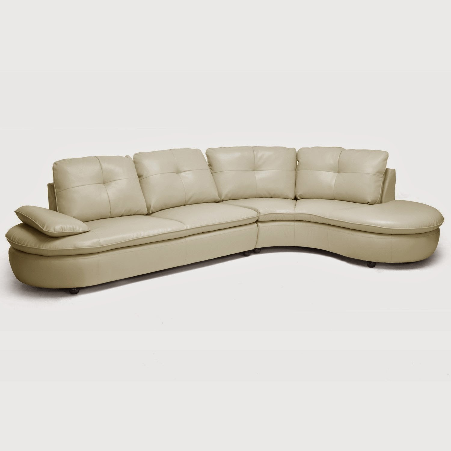 Curved Sofa Sectional Leather: Curved Sofa Couch For Sale: Sofa Curved Front