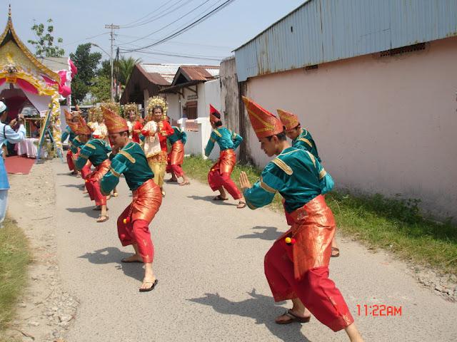 tari gelombang dari Sumatera Barat