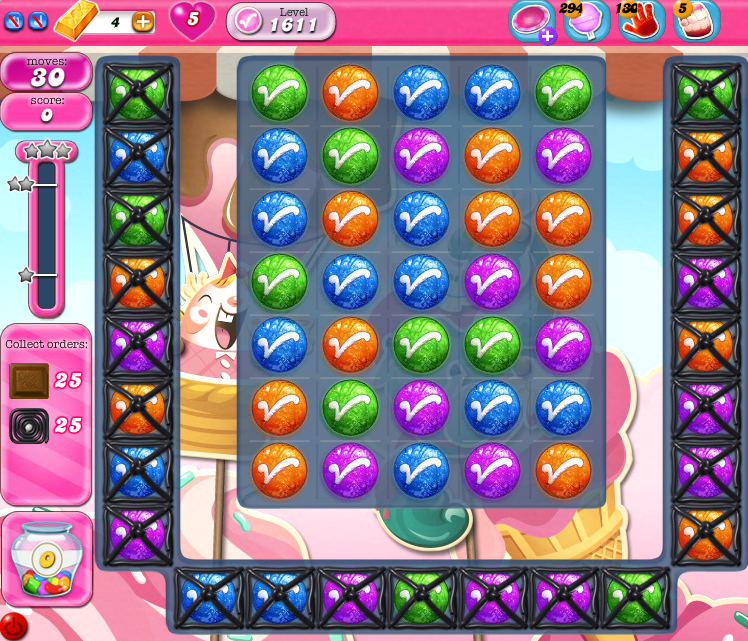 Candy Crush Saga 1611