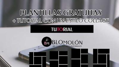 Plantillas Gratuitas + Tutorial Con Un Estilo Collage
