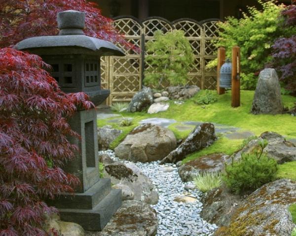 Japanese style landscape