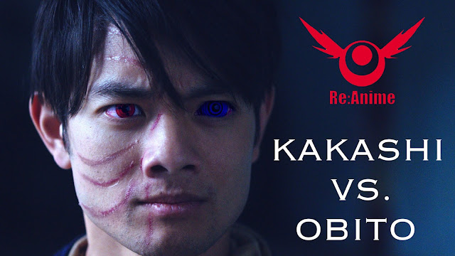 NARUTO: KAKASHI VS OBITO Live Action Short Film