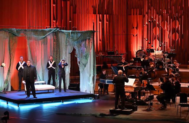 Errollyn Wallen, Henry Purcell: Dido's Ghost - Henry Waddington, Allison Cook, John Butt, Dunedin Consort - Barbican Hall 2021 (Photo Mark Allan / Barbican)