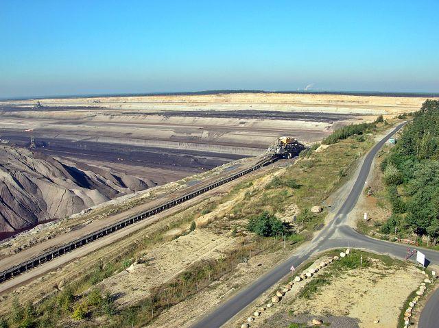 Tagebau Nochten, wycieczka, podróże, węgiel brunatny
