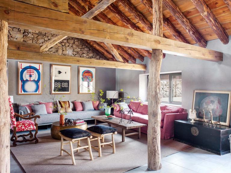 Stone house in Spain by interior designer Alberto Ribera
