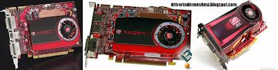 Amd ATI Radeon HD 4600 ekran kartı driver.