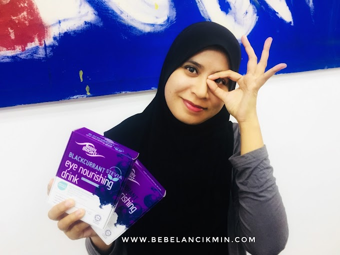 Kenapa Aku pilih BerryBright Sebagai Supplement Penjagaan Mata