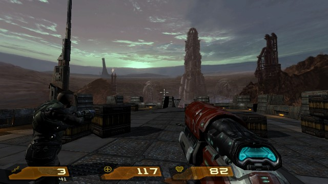 Download Quake 4 PC Gameplay