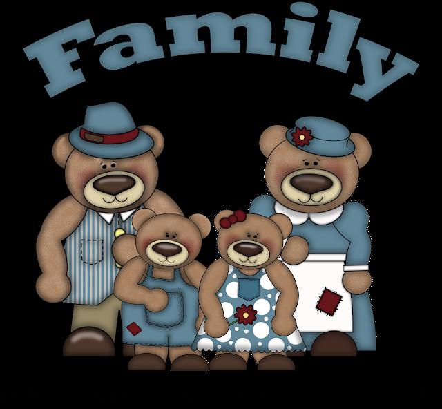free clip art bear family - photo #9
