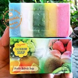 rainbow sabun nasa pelangi