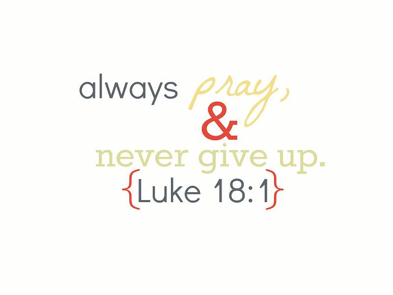 Image result for Luk 18:1