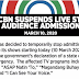 ABS-CBN suspends the admission of live studio audience amid coronavirus scare