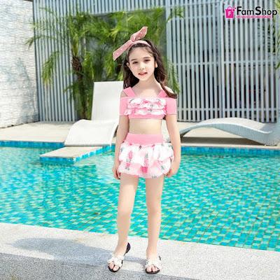 Bikini bé gái V153