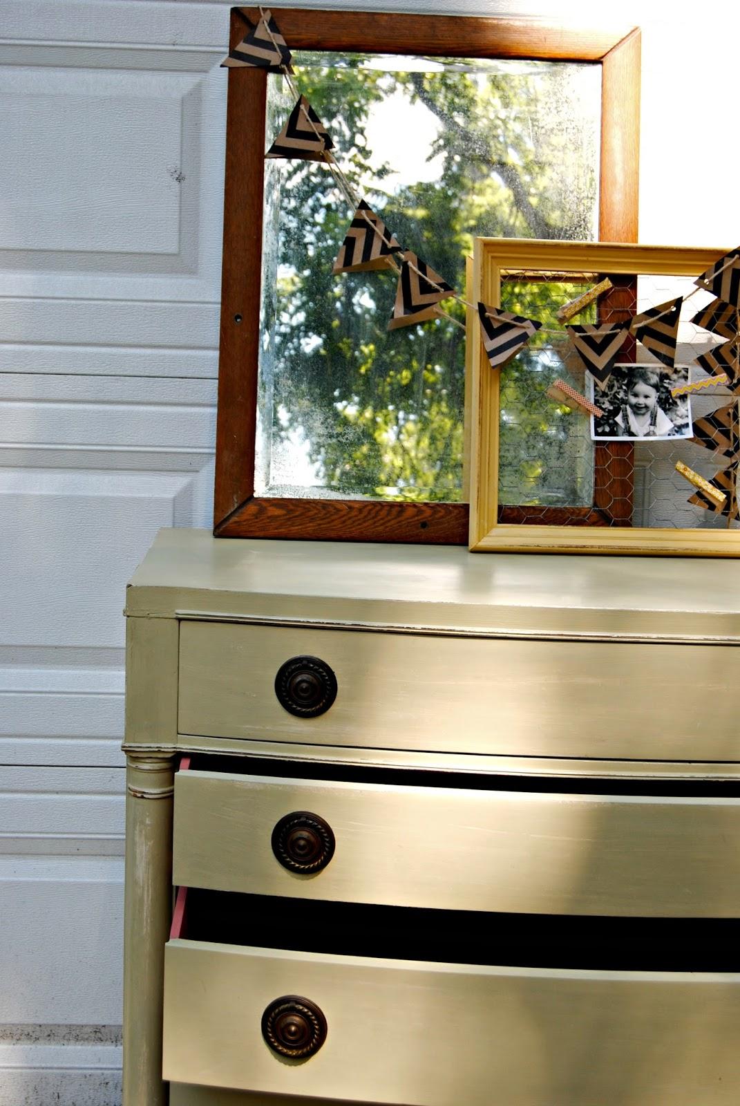 { Vintage Painted Dresser }