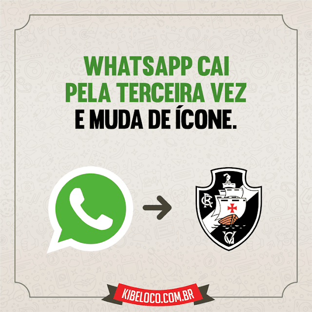 Imagens para WhatsApp e Face Zuando o Vasco