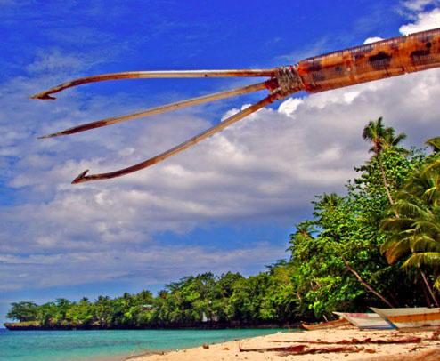 Gambar Kalawai Senjata Tradisional Maluku