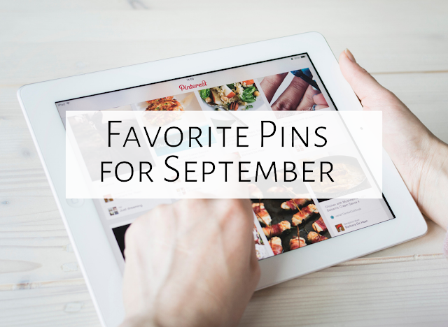 Five Favorite Pins of September